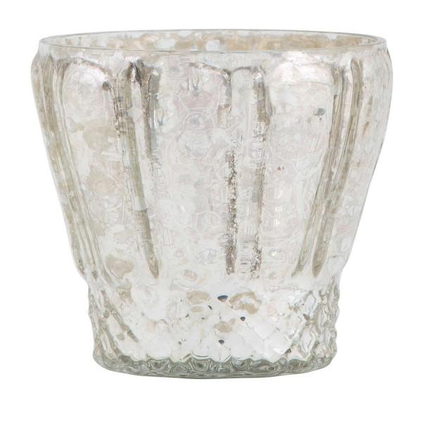 Teelichthalter mit Muster