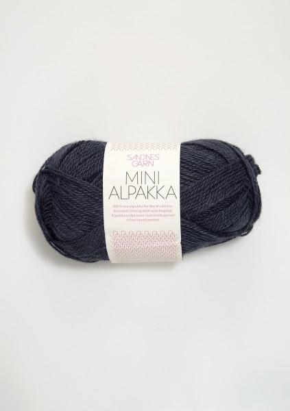 Mini Alpakka Blaugrau