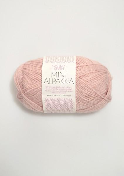 Mini Alpakka Puderrosa