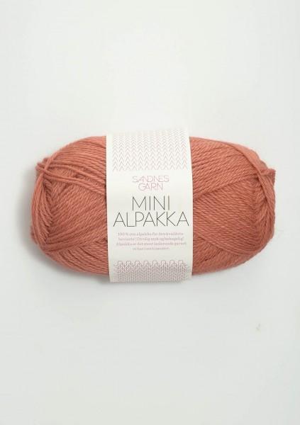 Mini Alpakka Hell-Terracotta