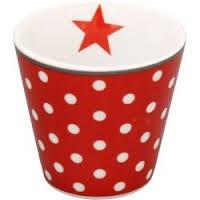 "Happy Espresso ""rot mit Dots"""