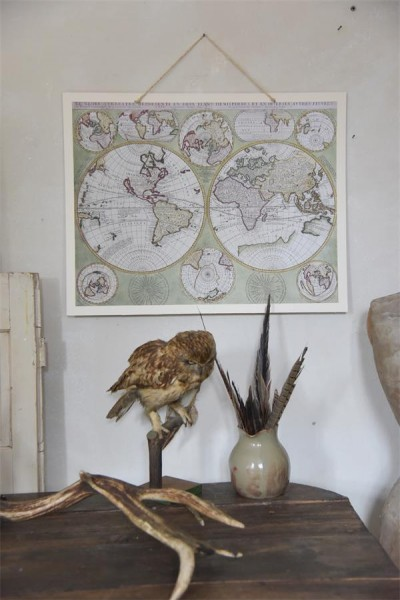 Poster OLD WORLD MAP