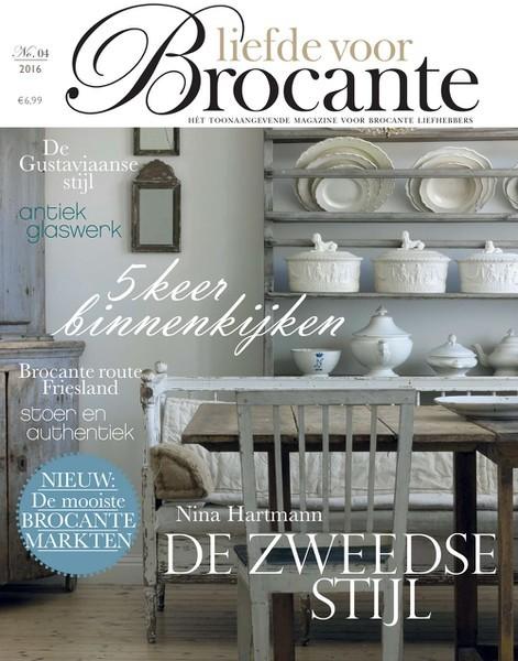 Liefde voor Brocante 04/2016 Niederländische Ausgabe