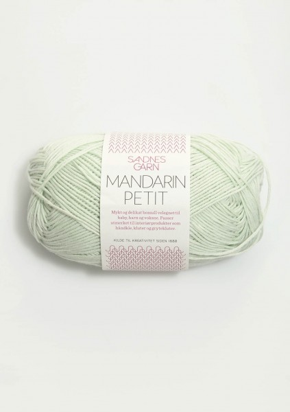 Mandarin Petit Mintgrün