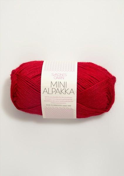 Mini Alpakka Rot
