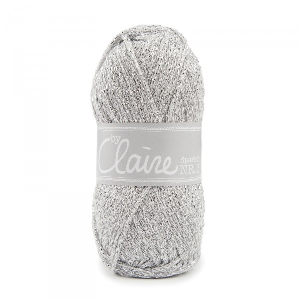 ByClaire Nr. 3 sparkle silber
