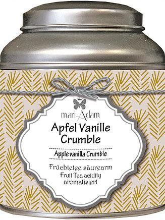 Früchtetee säurearm Apfel Vanille Crumble