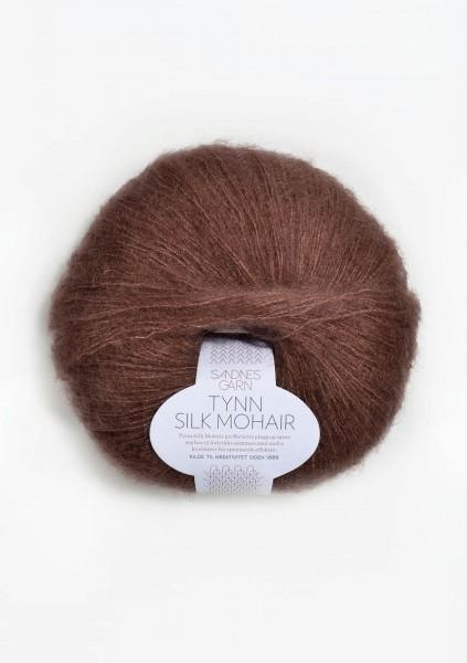 Tynn Silk Mohair Vintage Braun