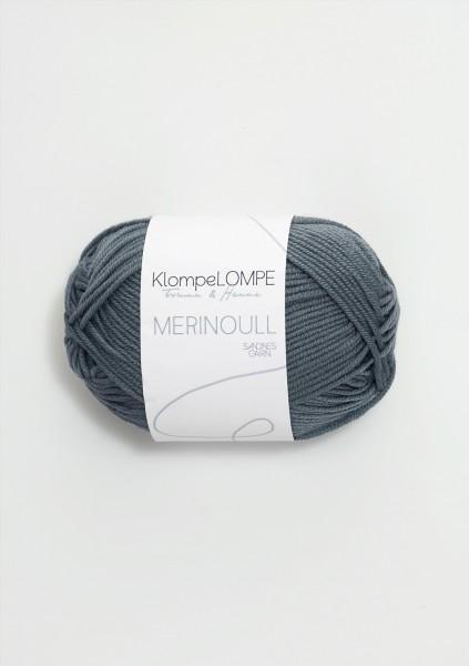 KlompeLOMPE Merinoull Blaugrün