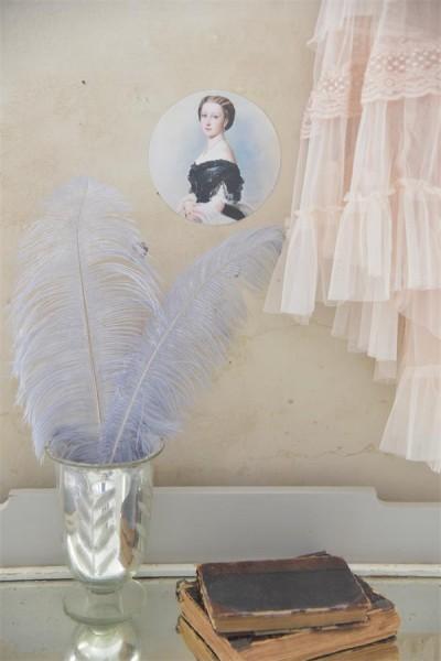 Dekoration für Möbel usw. nostalgischen Dame
