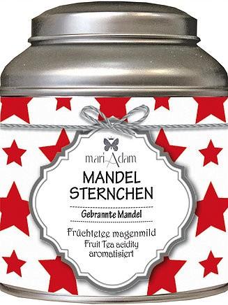 Früchtetee säurearm Mandelsternchen Gebrannte Mandeln