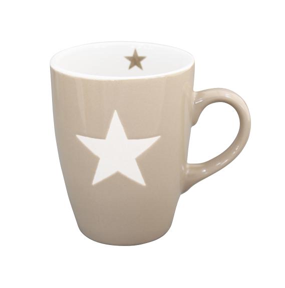"Brightest Star Tasse ""taupe"""