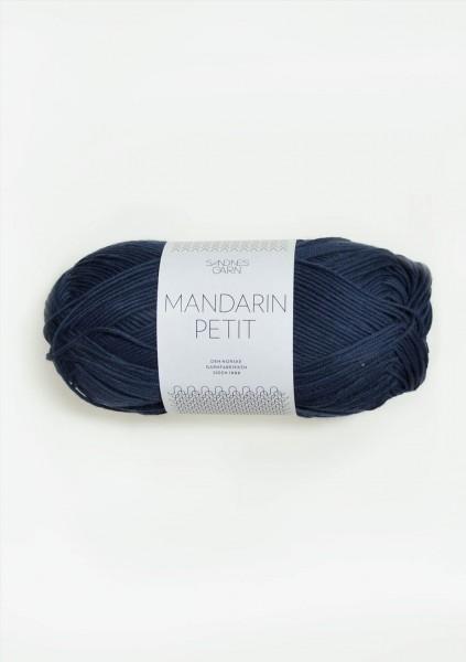 Mandarin Petit Marineblau