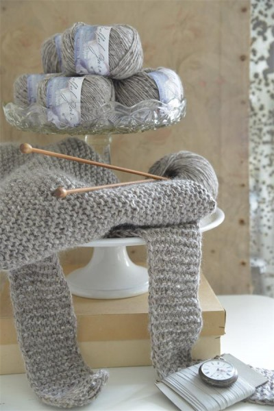 Mohair Tweed Soft Linen