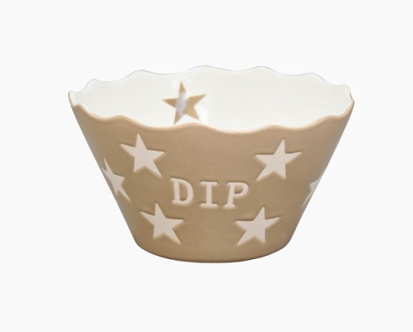 "Happy Stars ""Dip"" taupe"