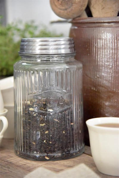 Vorratsglas TEA