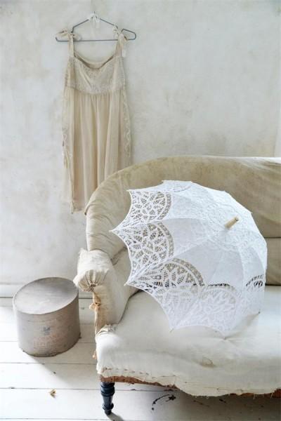 Romantischer Sonnenschirm