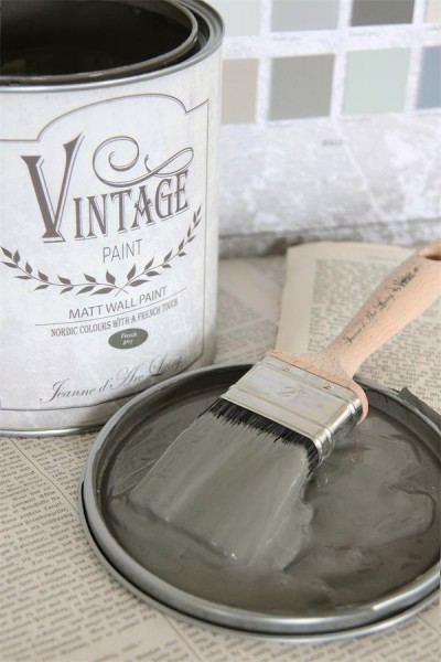 Vintage Paint Wandfarbe French Grey