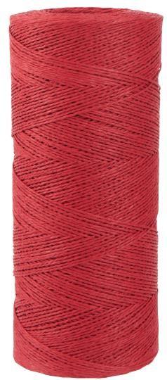 Papierfaden Rot 5m