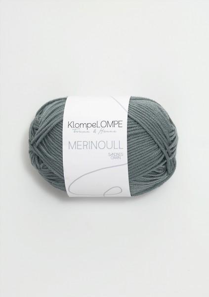 KlompeLOMPE Merinoull Dunkel Blaupetrol