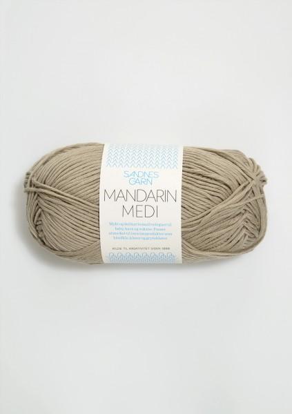 Mandarin Medi Khaki