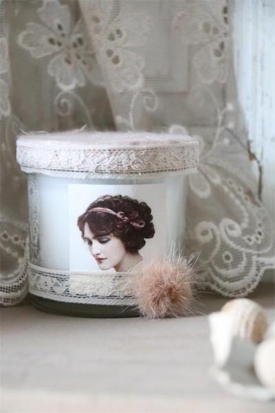 Kerze im Glas wild blueberry