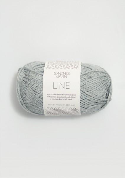 Line Hellblau