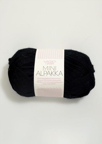 Mini Alpakka Schwarz
