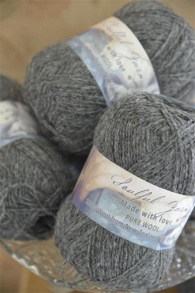 Pure Wool Deep Grey