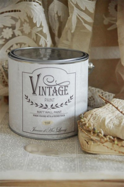 Vintage Paint Wandfarbe Vintage Cream