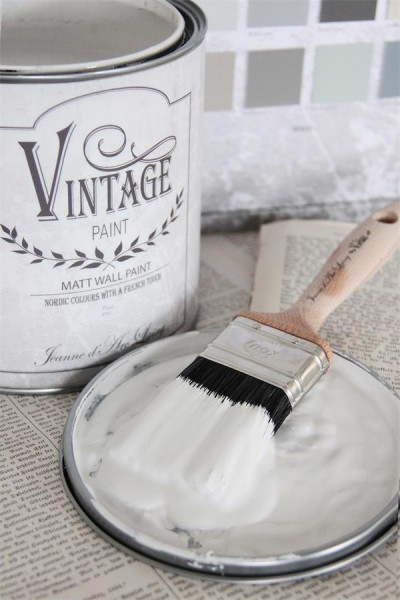 Vintage Paint Wandfarbe Pearl Grey