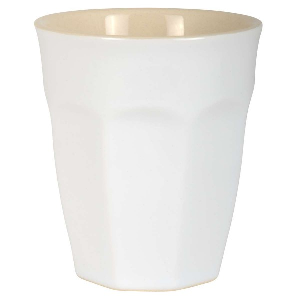 """Cafe Latte Becher """"Pure White"""""""