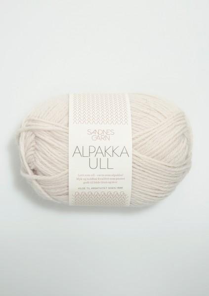 Tynn Alpakka Ull Kitt
