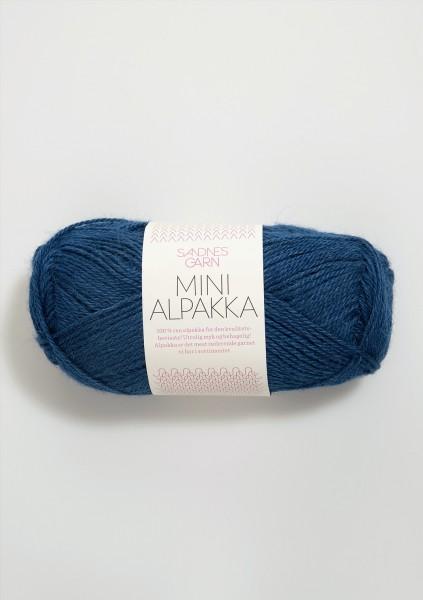 Mini Alpakka Tintenblau