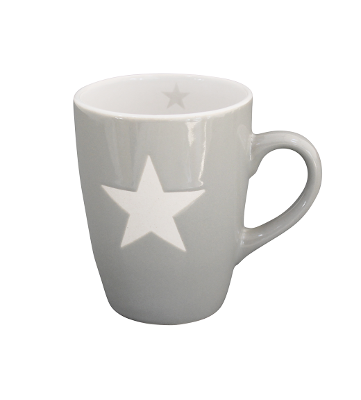 "Brightest Star Tasse ""hellgrau"""