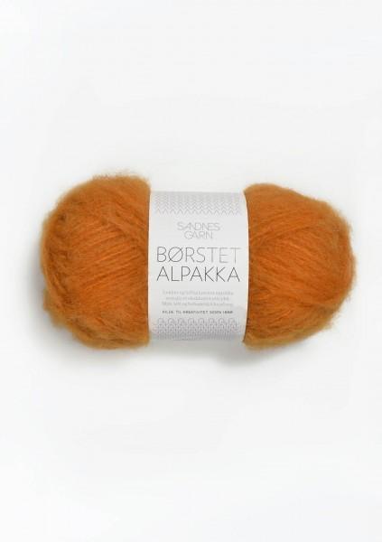 Borstet Alpakka Orange Fb. 2337