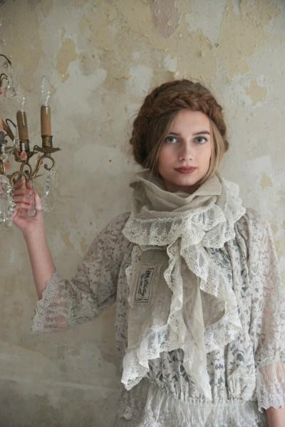 Schal Natural Graceful linen color