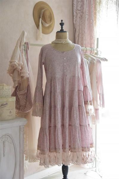 Kleid Romantic Mind tea rose Gr. S