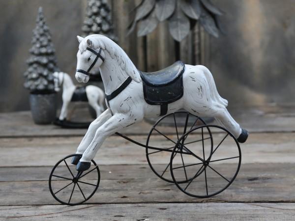 Vintage Pferd auf Radern