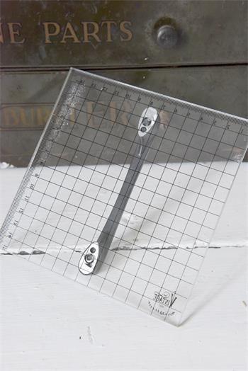 Acrylplatte mit Griff