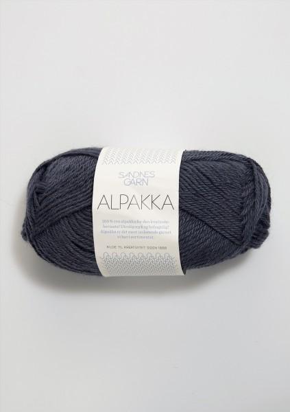 Alpakka Blaugrau