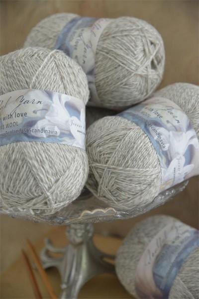 Pure Wool Beige Melange