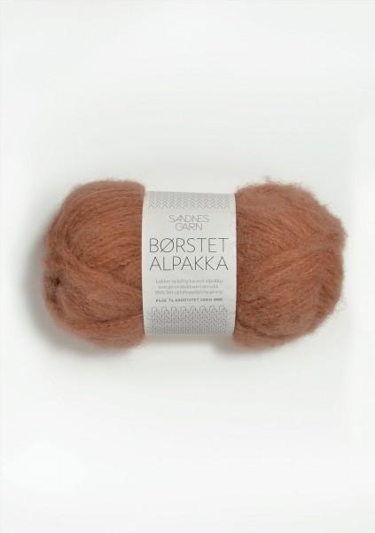 Borstet Alpakka Brent Sand Fb. 2734
