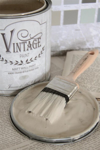 Vintage Paint Wandfarbe French Beige