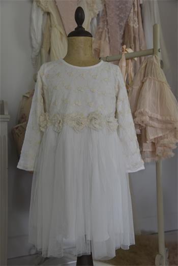 Kleid Vintage Fairy cream Gr. 6 J