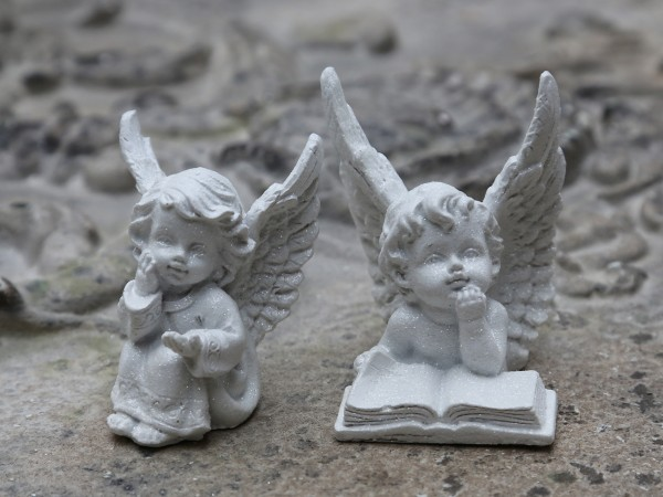 Engel mit Glimmer (2)
