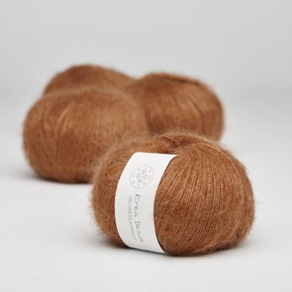 Deluxe Silk Mohair Karamell