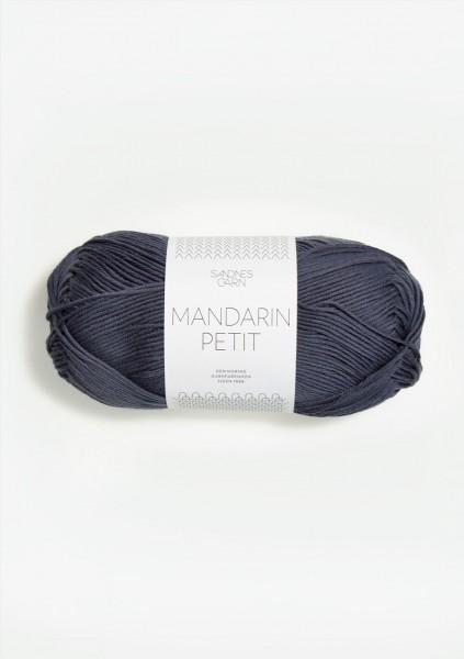 Mandarin Petit Dunkelgraublau