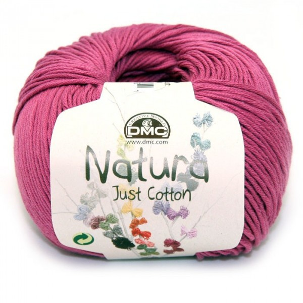"Natura Just Cotton ""amaranto"""