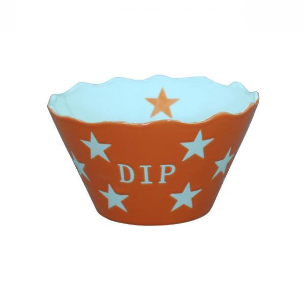 "Happy Stars ""Dip"" orange"